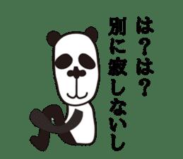 kansai panda sticker #804891
