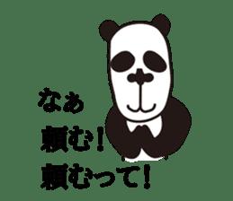 kansai panda sticker #804901