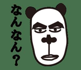 kansai panda sticker #804914