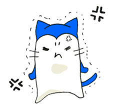 """Nyanjiro"" laughing and crying sticker #806164"