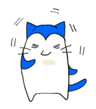 """Nyanjiro"" laughing and crying sticker #806171"