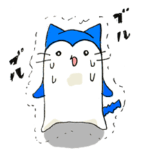 """Nyanjiro"" laughing and crying sticker #806177"