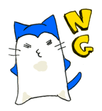 """Nyanjiro"" laughing and crying sticker #806179"