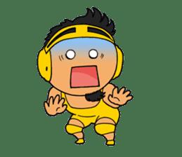 KAIENTAI DOJO Official Sticker1 sticker #806722