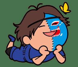 KAIENTAI DOJO Official Sticker1 sticker #806742