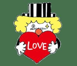 Happy clown sticker #807759