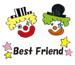 Happy clown sticker #807760