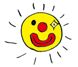 Happy clown sticker #807761