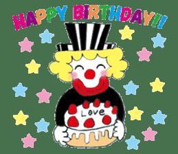 Happy clown sticker #807762