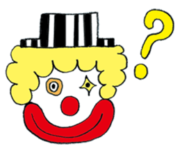 Happy clown sticker #807763