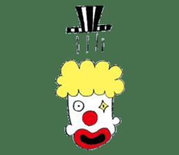 Happy clown sticker #807764