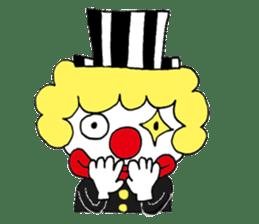 Happy clown sticker #807767
