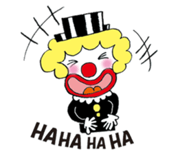 Happy clown sticker #807770