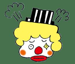 Happy clown sticker #807773