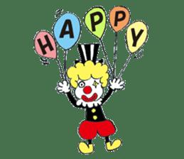 Happy clown sticker #807777
