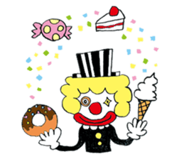 Happy clown sticker #807778