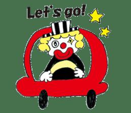 Happy clown sticker #807782