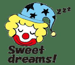 Happy clown sticker #807785