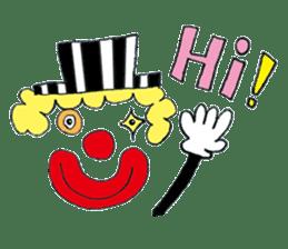 Happy clown sticker #807787