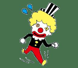 Happy clown sticker #807789