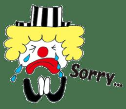 Happy clown sticker #807793