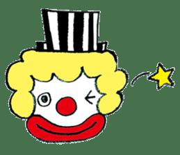 Happy clown sticker #807794