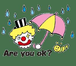 Happy clown sticker #807795