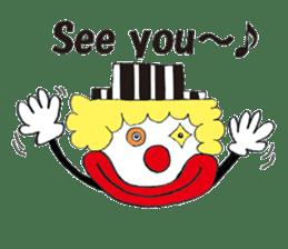 Happy clown sticker #807798