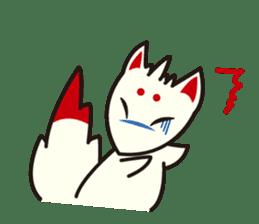 Maromayu Fox sticker #808081