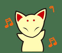 Maromayu Fox sticker #808085