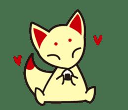 Maromayu Fox sticker #808088