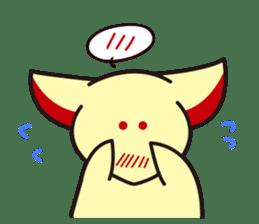 Maromayu Fox sticker #808090