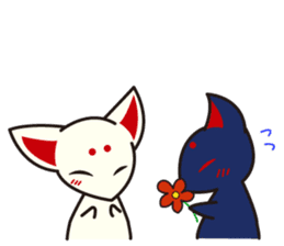Maromayu Fox sticker #808099