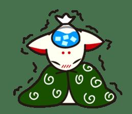 Maromayu Fox sticker #808100