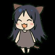 สติ๊กเกอร์ไลน์ Fairy Dog Nanamyi chan