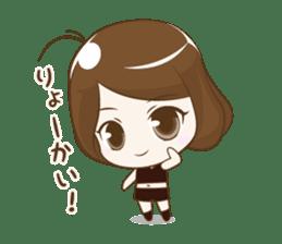 Platinum Girl sticker #810320