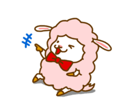 Dossey of sheep sticker #811402