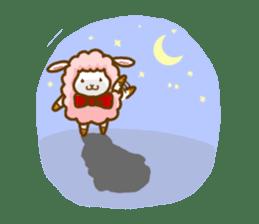 Dossey of sheep sticker #811415
