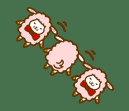 Dossey of sheep sticker #811416