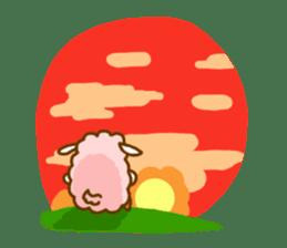 Dossey of sheep sticker #811422