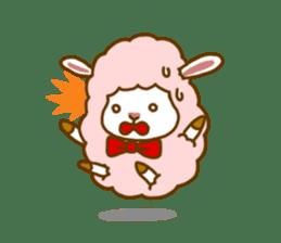 Dossey of sheep sticker #811423