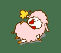 Dossey of sheep sticker #811424