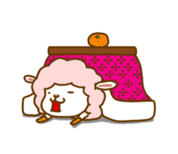 Dossey of sheep sticker #811431