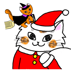 Cookie the Cat 3/Christmas/Holidays