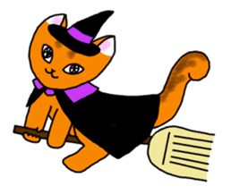 Cookie the Cat 3/Christmas/Holidays sticker #813077