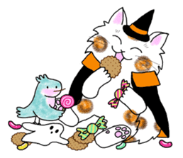 Cookie the Cat 3/Christmas/Holidays sticker #813078