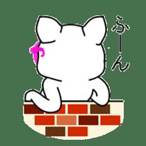 sunglasses cat shirosan sticker #814213