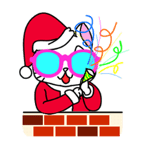 sunglasses cat shirosan sticker #814216