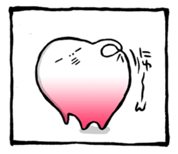 Two-panel cartoon for LINE Chats sticker #814535