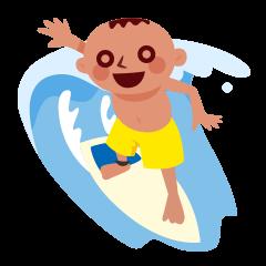 Go Go Surfing